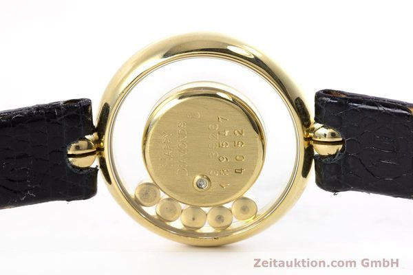 gebrauchte Luxusuhr Chopard Happy Diamonds 18k Gold Quarz Kal. F.H.F. 101001 Ref. 4052  | 153211 08
