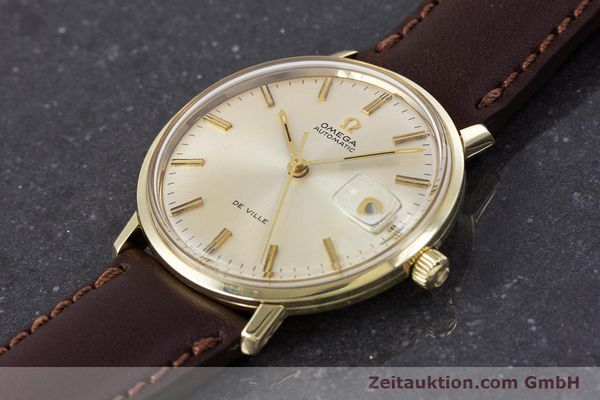 Used luxury watch Omega De Ville 14 ct yellow gold automatic Kal. 565 VINTAGE  | 153219 01