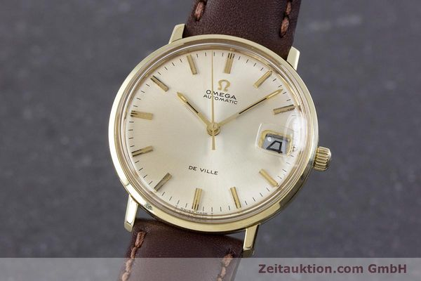 Used luxury watch Omega De Ville 14 ct yellow gold automatic Kal. 565 VINTAGE  | 153219 04