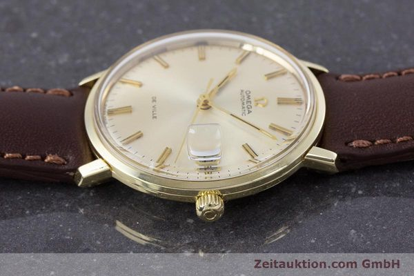 Used luxury watch Omega De Ville 14 ct yellow gold automatic Kal. 565 VINTAGE  | 153219 05