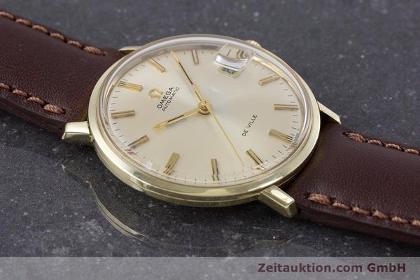 Used luxury watch Omega De Ville 14 ct yellow gold automatic Kal. 565 VINTAGE  | 153219 13