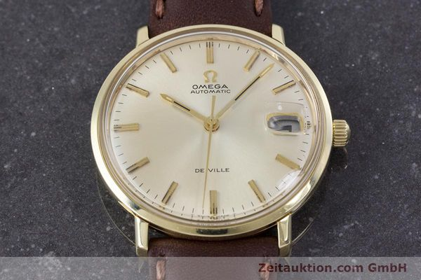 Used luxury watch Omega De Ville 14 ct yellow gold automatic Kal. 565 VINTAGE  | 153219 14