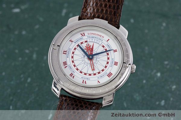 LONGINES CHRISTOBAL C STEEL AUTOMATIC KAL. L 624.2 ETA 2892-2 [153220]