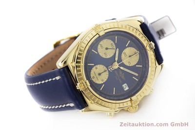 BREITLING CHRONOMAT CHRONOGRAPHE OR 18 CT AUTOMATIQUE KAL. B13 ETA 7750 LP: 23030EUR [153222]