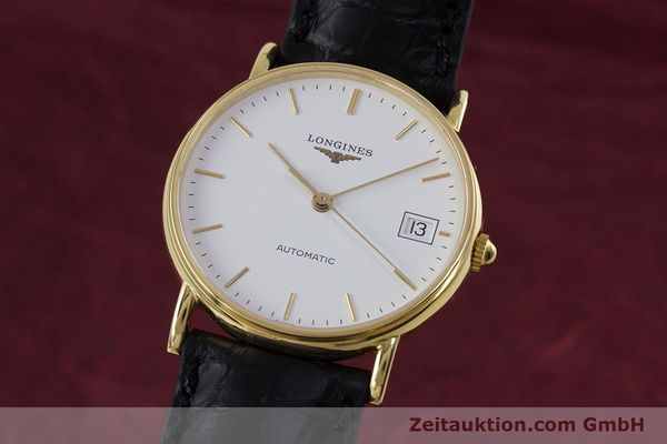 LONGINES PRESENCE OR 18 CT AUTOMATIQUE KAL. L619.2 ETA 2892A2 LP: 2520EUR [153226]