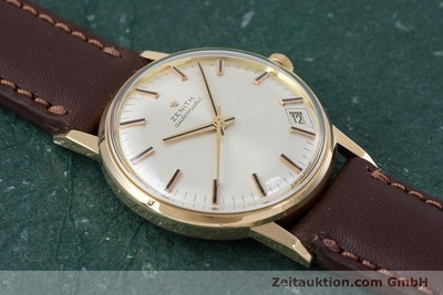 ZENITH 18 CT GOLD AUTOMATIC KAL. 2542PC LP: 7400EUR [153229]
