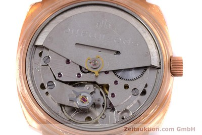 GLASHÜTTE SPEZIMATIC GOLD-PLATED AUTOMATIC KAL. 75 [153243]