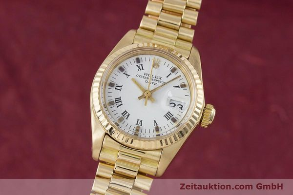 ROLEX LADY DATE 18 CT GOLD AUTOMATIC KAL. 2030 LP: 20600EUR [153244]