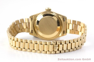 ROLEX LADY 18K (0,750) GOLD DATEJUST AUTOMATIK DAMENUHR 6917 VP: 20600,- EURO [153244]