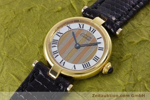 Used luxury watch Cartier Vermeil silver-gilt quartz Kal. 90  | 153246 01