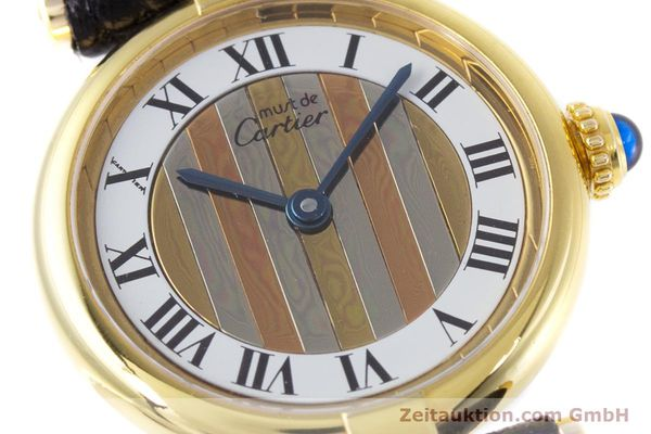 Used luxury watch Cartier Vermeil silver-gilt quartz Kal. 90  | 153246 02