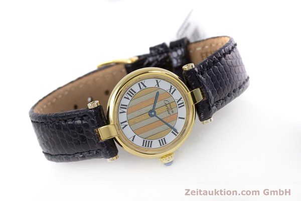 Used luxury watch Cartier Vermeil silver-gilt quartz Kal. 90  | 153246 03