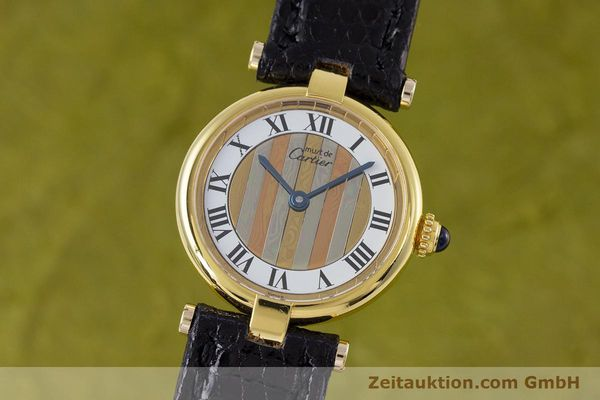 Used luxury watch Cartier Vermeil silver-gilt quartz Kal. 90  | 153246 04