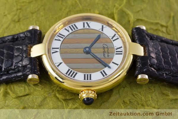 Used luxury watch Cartier Vermeil silver-gilt quartz Kal. 90  | 153246 05