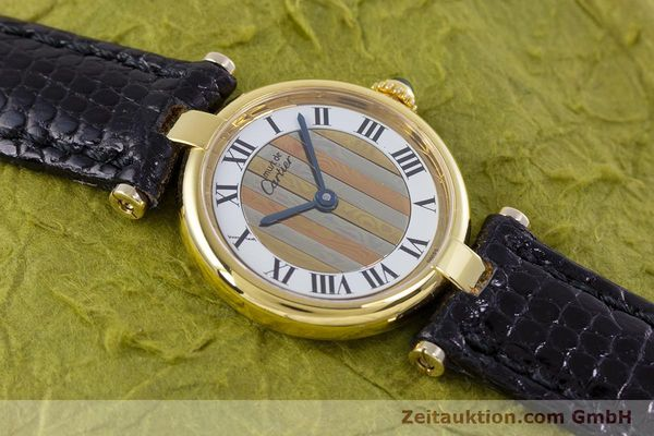 Used luxury watch Cartier Vermeil silver-gilt quartz Kal. 90  | 153246 11