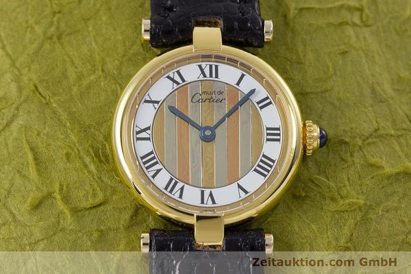 Used luxury watch Cartier Vermeil silver-gilt quartz Kal. 90  | 153246 12