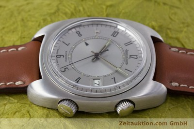 JAEGER LE COULTRE MEMOVOX ACCIAIO AUTOMATISMO KAL. 916 [153252]