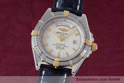 BREITLING HEADWIND STEEL / GOLD AUTOMATIC KAL. B45 ETA 2834-2 LP: 2990EUR [153269]