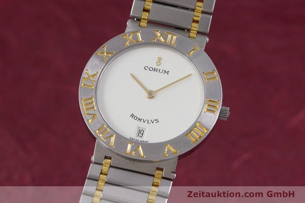 CORUM ROMULUS STEEL / GOLD QUARTZ KAL. ETA 255441 LP: 3200EUR [153277]