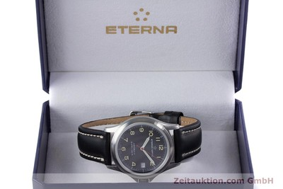 ETERNA AIRFORCE II FLIEGERUHR AUTOMATIK STAHL HERRENUHR 633.8407.41 VP: 1610,- Euro [153280]