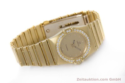 OMEGA CONSTELLATION OR 18 CT QUARTZ KAL. ETA 976.001 LP: 22100EUR [153292]