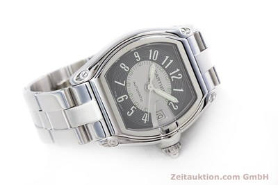 CARTIER ROADSTER STEEL AUTOMATIC KAL. 3110 ETA 2892-2 LP: 4300EUR [153293]