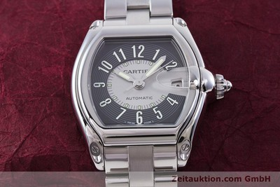 CARTIER ROADSTER ACIER AUTOMATIQUE KAL. 3110 ETA 2892-2 LP: 4300EUR [153293]
