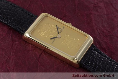 CORUM GOLDBARREN ORO 18 CT QUARZO KAL. 602.1 [153294]
