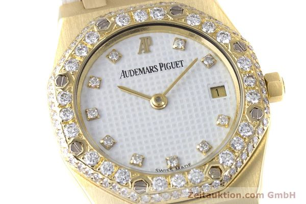 Used luxury watch Audemars Piguet Royal Oak 18 ct gold quartz Kal. 2610 Ref. C50375  | 153296 02