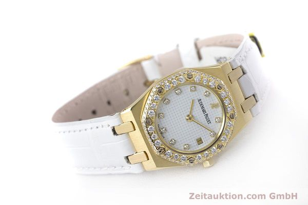 Used luxury watch Audemars Piguet Royal Oak 18 ct gold quartz Kal. 2610 Ref. C50375  | 153296 03