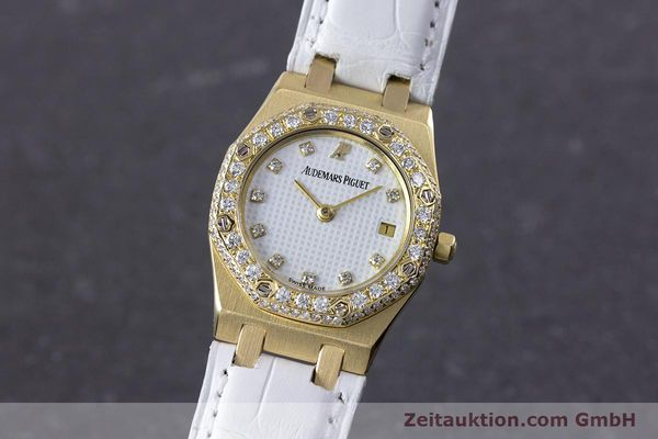 AUDEMARS PIGUET ROYAL OAK ORO DE 18 QUILATES CUARZO KAL. 2610 LP: 22000EUR [153296]