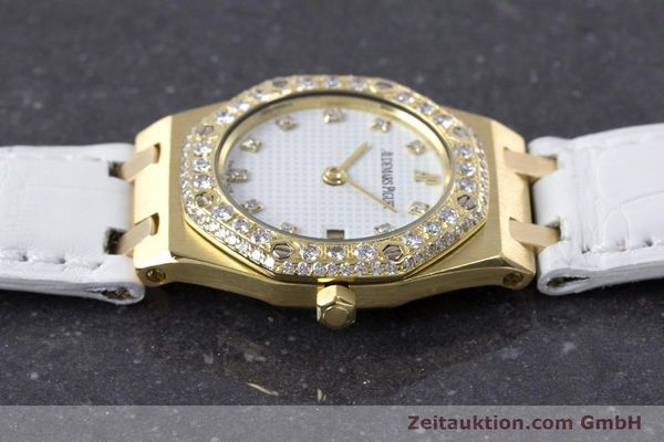 Used luxury watch Audemars Piguet Royal Oak 18 ct gold quartz Kal. 2610 Ref. C50375  | 153296 05