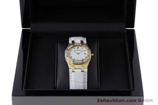 Used luxury watch Audemars Piguet Royal Oak 18 ct gold quartz Kal. 2610 Ref. C50375  | 153296 07