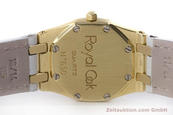 Used luxury watch Audemars Piguet Royal Oak 18 ct gold quartz Kal. 2610 Ref. C50375  | 153296 09