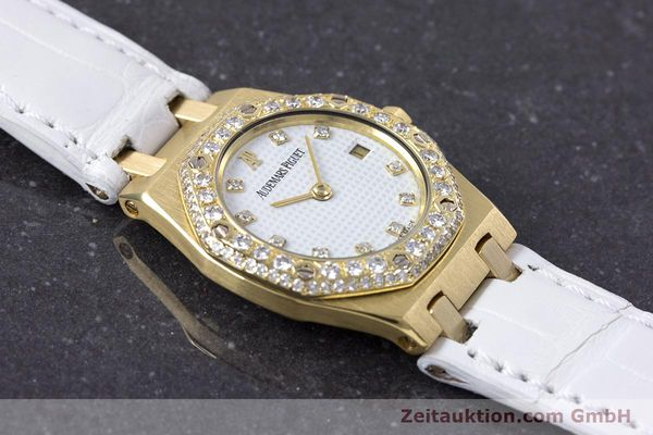 Used luxury watch Audemars Piguet Royal Oak 18 ct gold quartz Kal. 2610 Ref. C50375  | 153296 13