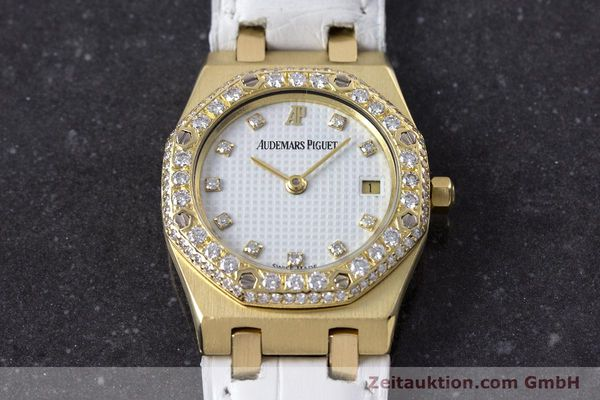 Used luxury watch Audemars Piguet Royal Oak 18 ct gold quartz Kal. 2610 Ref. C50375  | 153296 14