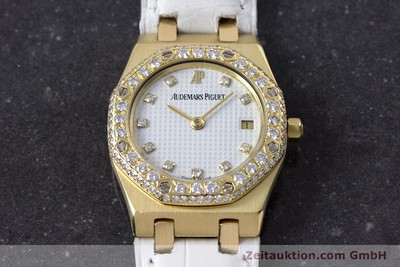 AUDEMARS PIGUET ROYAL OAK 18 CT GOLD QUARTZ KAL. 2610 LP: 22000EUR [153296]