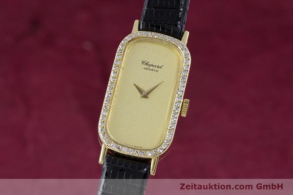 CHOPARD LADY 18K (0,750) GELB GOLD DAMENUHR DIAMANTEN VP: 19750,- EURO [153298]