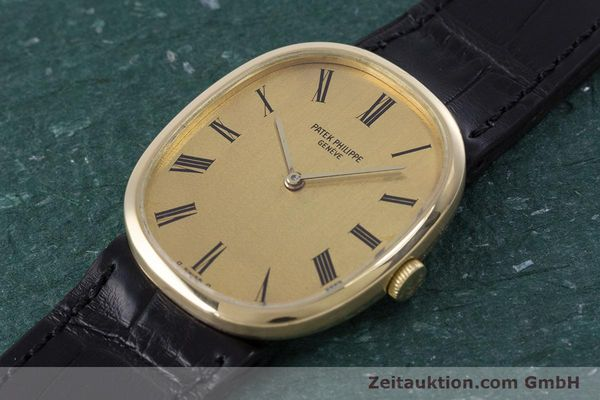 Used luxury watch Patek Philippe Ellipse 18 ct gold manual winding Kal. 23-300 Ref. 3548  | 153300 01
