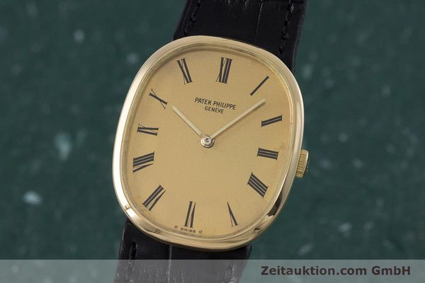 Used luxury watch Patek Philippe Ellipse 18 ct gold manual winding Kal. 23-300 Ref. 3548  | 153300 04