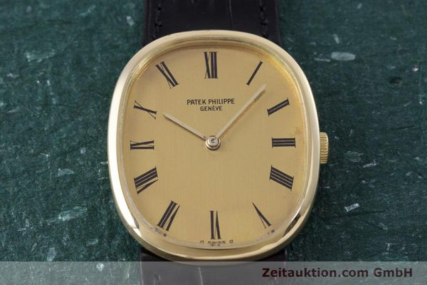 Used luxury watch Patek Philippe Ellipse 18 ct gold manual winding Kal. 23-300 Ref. 3548  | 153300 15