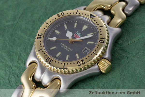 Used luxury watch Tag Heuer Professional steel / gold quartz Kal. 2.93 ETA 956112 Ref. WG1320-0  | 153315 01