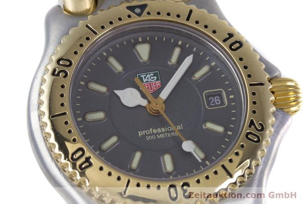 Used luxury watch Tag Heuer Professional steel / gold quartz Kal. 2.93 ETA 956112 Ref. WG1320-0  | 153315 02