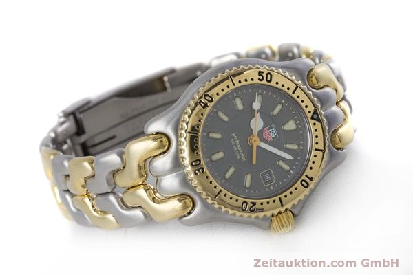 Used luxury watch Tag Heuer Professional steel / gold quartz Kal. 2.93 ETA 956112 Ref. WG1320-0  | 153315 03