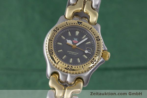 Used luxury watch Tag Heuer Professional steel / gold quartz Kal. 2.93 ETA 956112 Ref. WG1320-0  | 153315 04