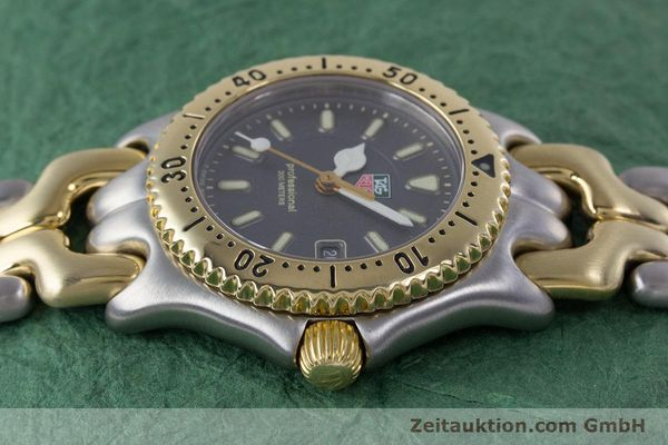 Used luxury watch Tag Heuer Professional steel / gold quartz Kal. 2.93 ETA 956112 Ref. WG1320-0  | 153315 05
