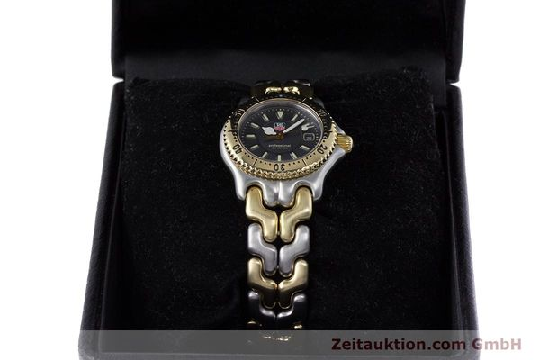 Used luxury watch Tag Heuer Professional steel / gold quartz Kal. 2.93 ETA 956112 Ref. WG1320-0  | 153315 07