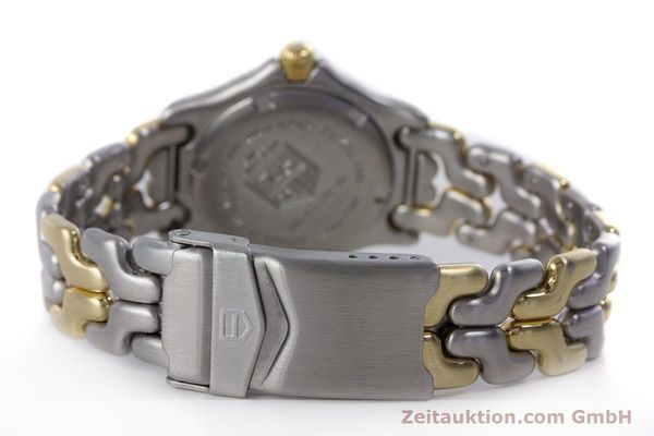 Used luxury watch Tag Heuer Professional steel / gold quartz Kal. 2.93 ETA 956112 Ref. WG1320-0  | 153315 10