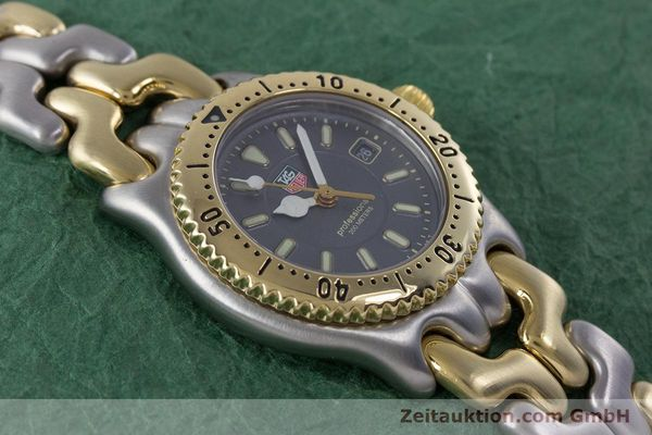 Used luxury watch Tag Heuer Professional steel / gold quartz Kal. 2.93 ETA 956112 Ref. WG1320-0  | 153315 13