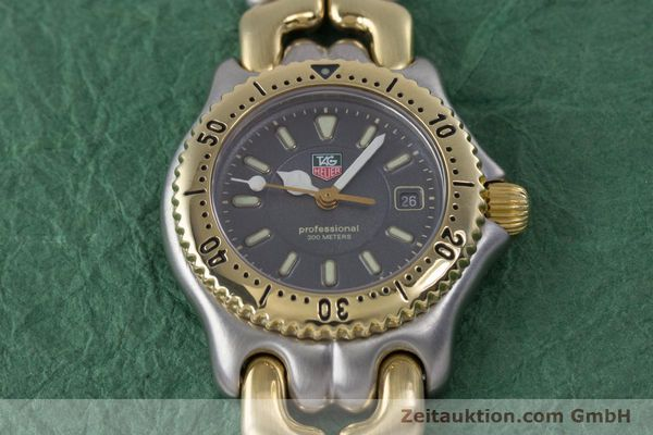 Used luxury watch Tag Heuer Professional steel / gold quartz Kal. 2.93 ETA 956112 Ref. WG1320-0  | 153315 14